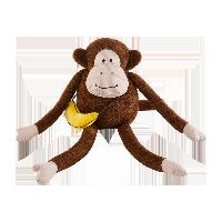 馬戲團·猴子與香蕉抱枕小猴子(含斜挎小香蕉)