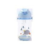 儿童背带便携水杯蓝色