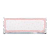 可折叠防摔床护栏粉色