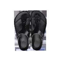 夾腳式涼拖鞋黑色*37