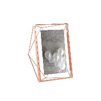 立体菱形相框玫瑰金7寸