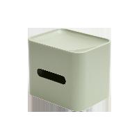 多功能纸巾盒豆沙绿