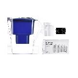 年購裝 凈水壺+濾芯超值套組【半年版-藍色】1壺9芯(適用6~9個月)