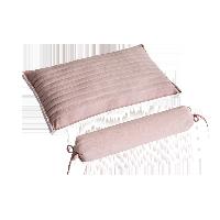 决明子/黄金子草本护颈枕水粉色黄金子组合枕(平枕*1+圆枕*1)
