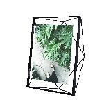 立體菱形相框黑色10寸