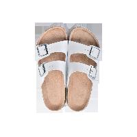 两带式软木拖鞋白色*39
