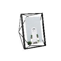 立體菱形相框黑色7寸