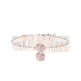 韩国设计 14K玫瑰金珍珠母贝手链手链