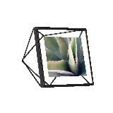 立体菱形相框黑色4寸