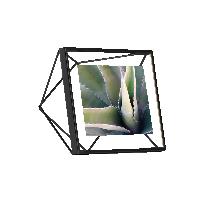 立體菱形相框黑色4寸