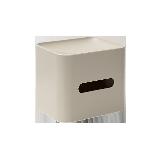 多功能纸巾盒珊瑚灰