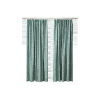 美式田園風蜻蜓提花窗簾1.4m寬 x 2.6m高(1片)*綠色