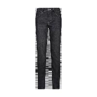 男式锁温直筒保暖牛仔裤牛仔黑*34(180/86A)