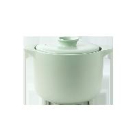 欧式双盖微压焖煮陶瓷煲薄荷绿/2.8L