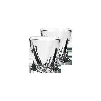 捷克制造 水晶玻璃威士忌酒杯55ml两只装(白酒杯)