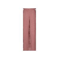女式舒适针织直筒家居裤红棕色*L