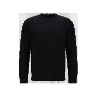 男式加厚圆领羊毛衫黑色*M(170/92A)