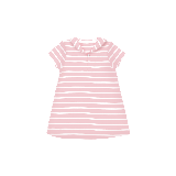 婴幼儿纯棉条纹连衣裙 3个月-3岁粉色条纹*59cm(适合0-3个月)