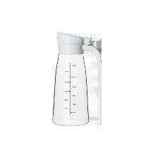 簡雅防滴漏玻璃調味瓶暖白