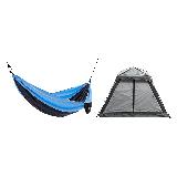家庭公园郊游装备套装郊游3-4人帐篷(暗夜灰)+吊床