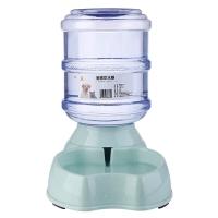 瘋狂的小狗 寵物用品狗碗喂水器狗狗飲水器貓碗狗盆食具水具 自動飲水器3.8L 綠色