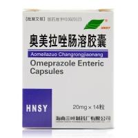 奥美拉唑肠溶胶囊,20mgx14粒