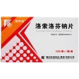洛索洛芬鈉片(洛列通),60mgx12片