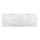 3D纳米薄膜口罩白色 3只装