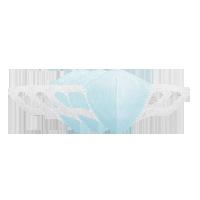 3D纳米薄膜口罩蓝色 3只装