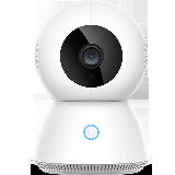 小米 米家 小白智能摄像机增强版 1080p高清360度全景拍摄AI增强移动侦测升级红外夜视小爱同学互动