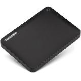 东芝(TOSHIBA) 4TB USB3.0 移动硬盘 V9系列 2.5英寸 兼容Mac 超大容量 密码保护 轻松备份 高速传输 经典黑