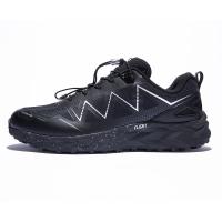 探路者(TOREAD)跑步鞋秋冬男女情侣款户外透气防滑跑鞋 KFFG91331 黑色/银色(男) 42