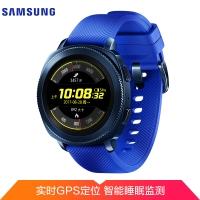三星(SAMSUNG)Gear Sport运动手表 第二代智能手表 实时心率监测 GPS定位 兼容安卓和IOS 游泳防水 蓝色