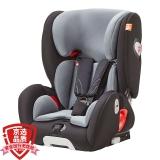 gb好孩子高速汽车儿童安全座椅 ISOFIX接口 SIP 侧撞保护系统CS860-N020 黑灰色(9个月-12岁)