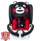 阿布纳Abner 德国婴儿童安全座椅汽车用0-4-12岁 360度旋转可躺isofix硬接口 宇航员007(熊本熊)