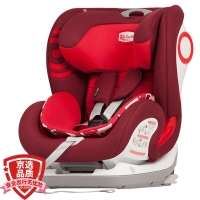 SAVILE猫头鹰 汽车儿童安全座椅9个月-12岁 卢娜V505E 红狮