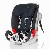 宝得适/百代适britax 宝宝汽车儿童安全座椅isofix接口 百变骑士 适合约9个月-12岁(小奶牛)