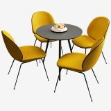 A.O.史密斯定制款 自建展厅洽谈桌 一桌四椅套装611+612
