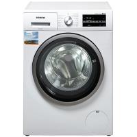 西门子(SIEMENS)8公斤 变频全自动 洗烘一体滚筒洗衣机  热风除菌(白色)XQG80-WD12G4C01W