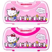 广博(GuangBo)手提两层文具盒/铅笔盒学生用品 凯蒂猫款式随机 单个装KT85056