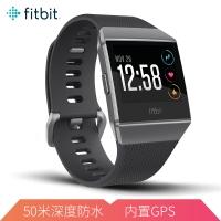 Fitbit  Ionic 智能手表 健身防水 蓝牙可通话 自动锻炼识别 GPS全球定位音乐存储 来电短信提醒  碳灰色