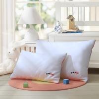 LOVO罗莱生活出品 枕头枕芯 全棉儿童可水洗五星呵护纤维枕 35*55cm