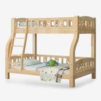 好事达易美定制松木上下床 小户型简约子母床  高低实木床1.2米(简易款)130