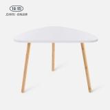 佳佰 小茶几边几角几沙发边桌简约茶几北欧咖啡桌 现代简约风茶几小户型沙发边几 床头桌卧室白色45*30*40cm