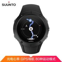 頌拓(SUUNTO)斯巴達 酷跑 光電心率 80+種運動模式 GPS 跑步 騎行 游泳 智能手表 黑色