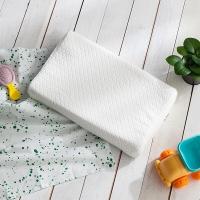 大朴(DAPU)枕芯家纺 A类枕头 臻纯斯里兰卡乳胶枕 轻薄透气枕 儿童乳胶枕3-6岁 波浪款 44*24cm
