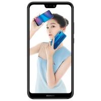 華為 HUAWEI nova 3e全面屏2400萬前置攝像 4GB +128GB 幻夜黑全網通版 移動聯通電信4G手機 雙卡雙待