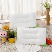 富安娜家纺 枕头芯儿童枕芯可水洗枕头 水洗羽丝绒枕 儿童款 50*30cm 白色