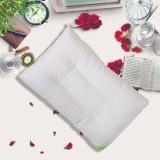 富安娜家纺 枕头芯学生枕芯可水洗 枕头 水洗羽丝绒枕 学生款 60*38cm 白色