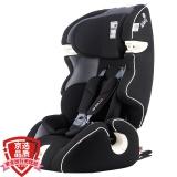 kiwy原装进口宝宝汽车儿童安全座椅isofix硬接口 适合约9个月-12岁 3C认证 无敌浩克荣耀版 典雅黑